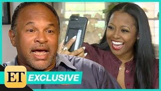 Watch Keshia Knight Pulliam Surprise Cosby Show Co-Star Geoffrey Owens During ET Interview