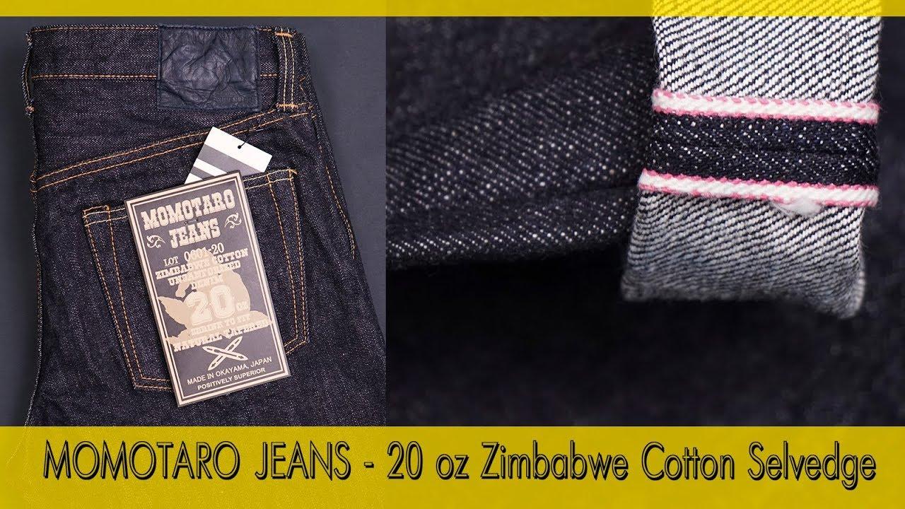 Новинки SS18 - MOMOTARO JEANS 20 oz Zimbabwe Cotton
