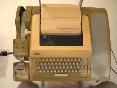 Teletype Model 33 ASR.wmv