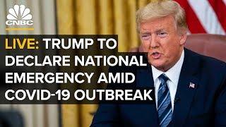WATCH LIVE: President Trump to declare national emergency over coronavirus pandemic - 3/13/2020