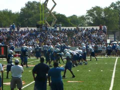 2010 Colts Training Camp - Blue vs. White Scrimmage
