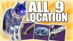 Destiny 2 all 9 Cats Location in the Dreaming City