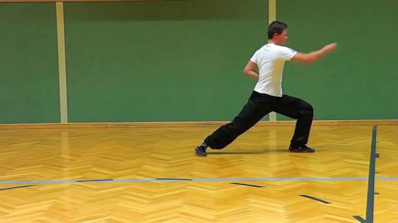 Shaolin Kung Fu Tutorial #3 Northern Basic 1 D0