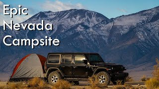 Epic Camping in Nevada