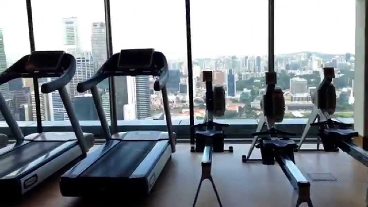 Banyan tree fitness club marina bay sands singapore by