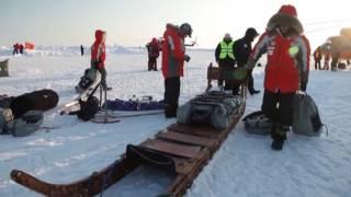 Репортаж про экспедицию Ф.Конюхова и В.Симонова (Карелия - Северный полюс - Гренландия)