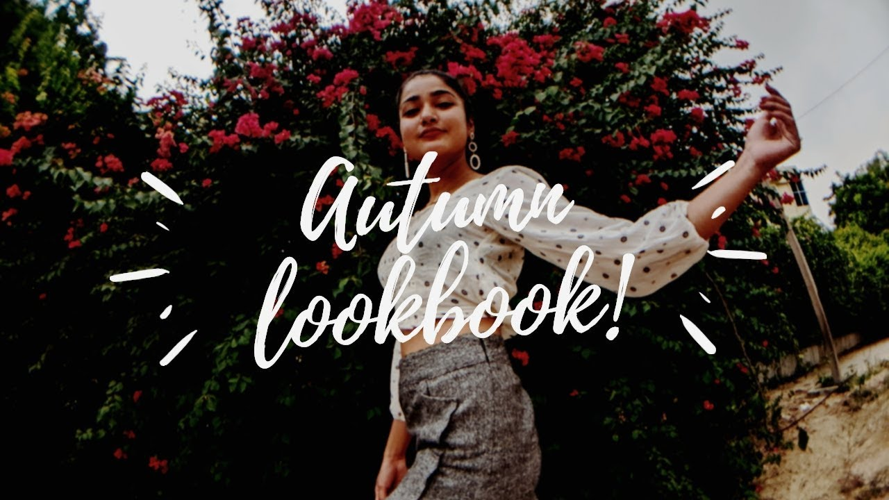 [VIDEO] - AUTUMN Outfit ideas for Indian Weather| STYLISH Lookbook 6