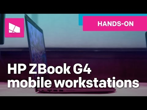 4 New HP ZBook G4 mobile workstations for digital creators