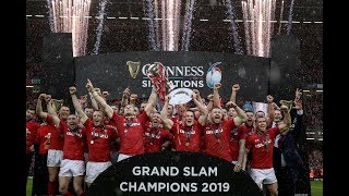 Trophy Lift: Wales win the 2019 Grand Slam! | Guinness Six Nations
