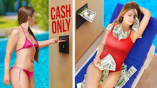 Expectations vs Reality / 10 Funny Ways to Make Money in Summer