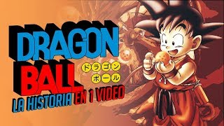 Dragon Ball Saga Goku Niño I La Historia en 1 Video