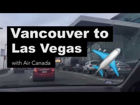From Vancouver To Las Vegas With Air Canada Rouge