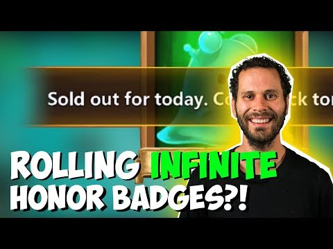 Rolling Honor Badges Until IGG STOPS ME!! Is This REAL?!