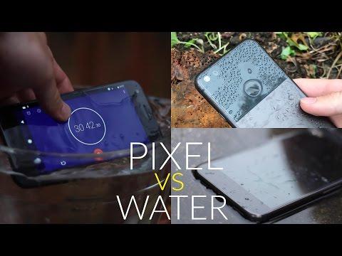 Google Pixel Water Test - Is it Water Resistant?