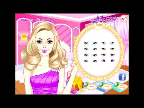 Barbie Glitter Dress Up Games