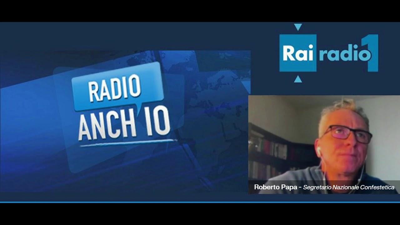 PROTOCOLLI CENTRI ESTETICI -RAI  RADIO UNO   RADIO ANCH'IO