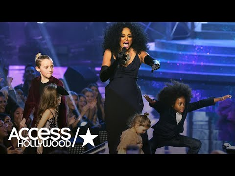 Diana Ross' Grandkids Steal The Show At The 2017 AMAs | Access Hollywood