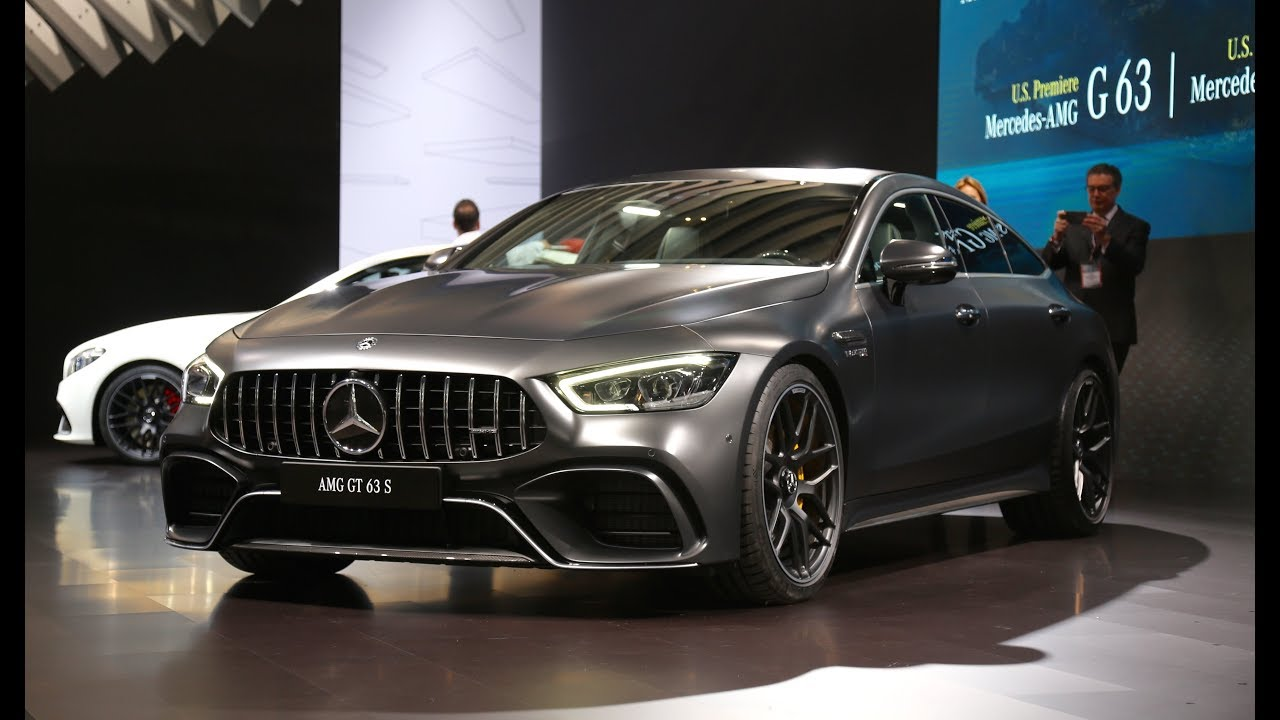 mercedes amg gt 63 s 4 door coupe first look youtube. Black Bedroom Furniture Sets. Home Design Ideas