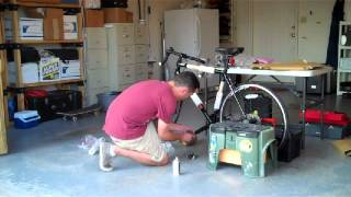 Unpacking my new Motobecane Roadbike