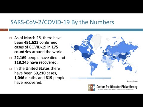 COVID-19: Past Epidemics and Vulnerability — Lessons for Funders Today webinar