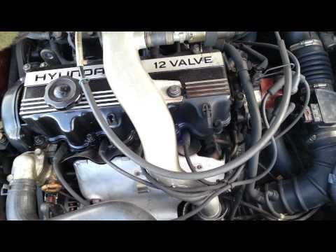Motor hyundai scoupe gt turbo