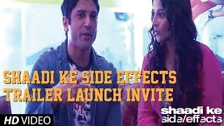 shaadi ke side effects   trailer watch invite   farhan akhtar   vidya balan   2013