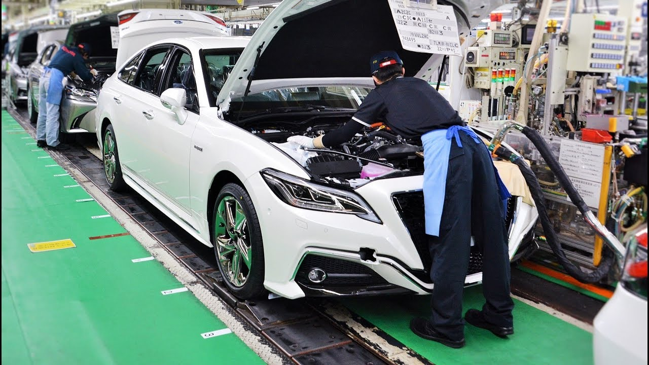 2018 Toyota Crown Production