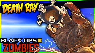 DEATH RAY WEAPON ON BO3 ZOMBIES w/ ZHouse!!!