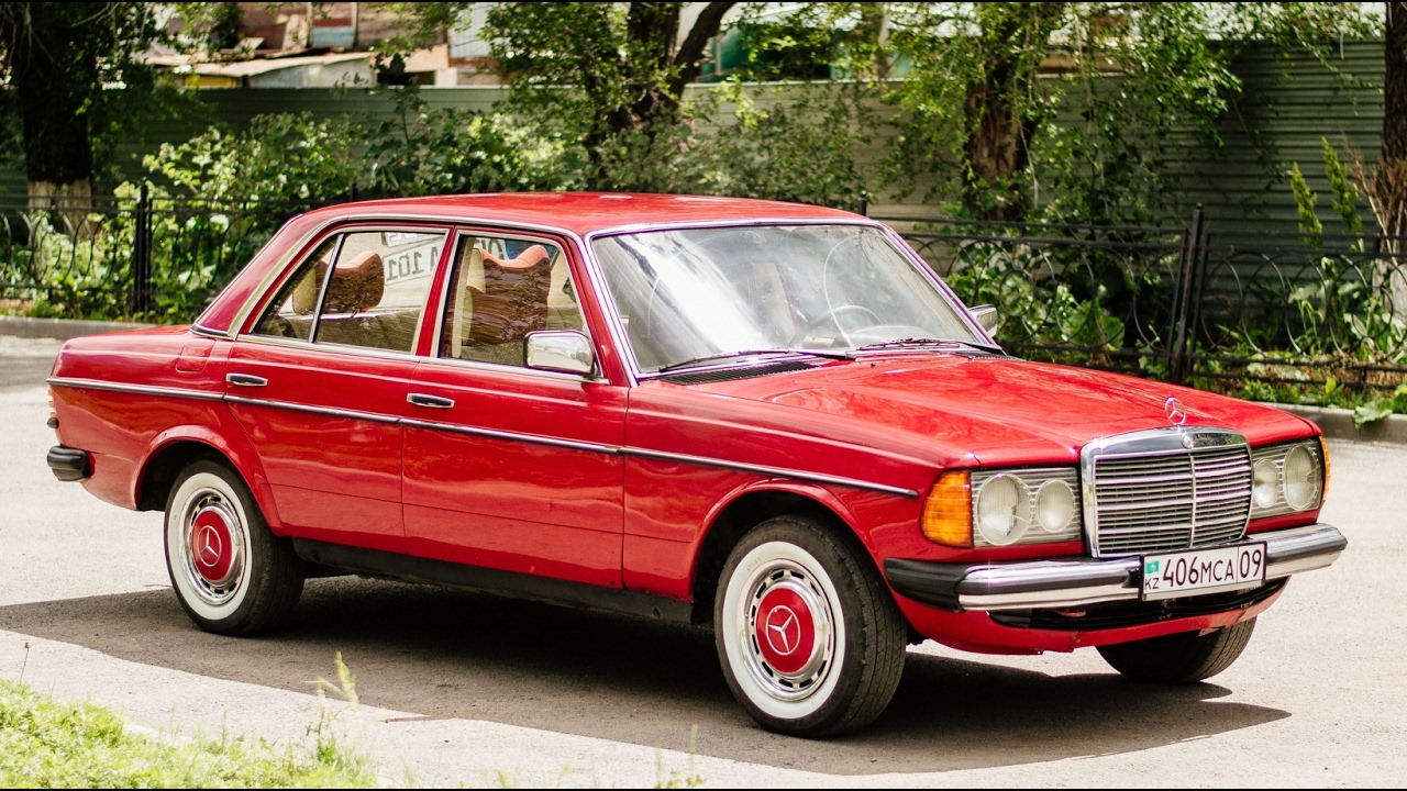 Mercedes benz 230e w123 youtube for Mercedes benz 230e