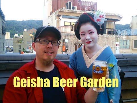 Geisha Beer Gardens in Kyoto with Geisha Dancing (Gion and Kamishichiken)