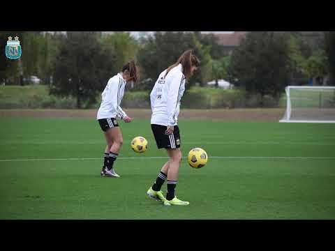 #SelecciónFemenina Primer día de entrenamiento en Orlando