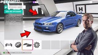 Forza Horizon 4 Paul Walker Nissan Skyline R34 GTR Build