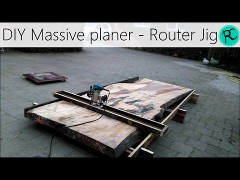 Router Planer - Based on Nick Offerman's Flattening Jig
