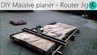 Router Planer - Based on Nick Offerman's Flattening Jig