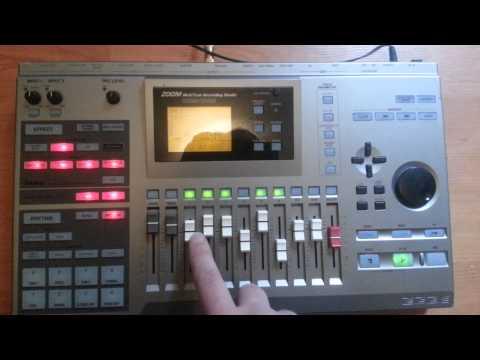 Zoom MRS-1044 Multitrack recording studio 1