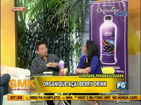 Organique Acai Berry Drink to diabetes and overweight