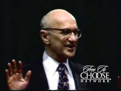 Milton Friedman Explains the Cause of the Great Depression