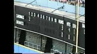 Download Video Home Video Atlanta Braves vs. St. Louis Cardinals June 24, 1996 MP3 3GP MP4