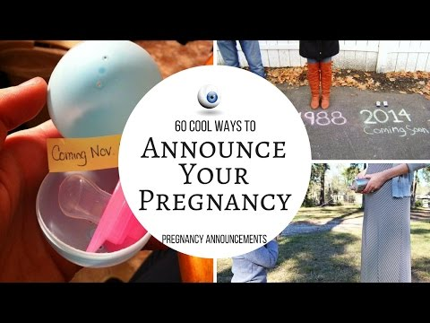 Pregnancy Announcements Cool Ways To Announce Your Pregnancy
