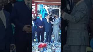 Farrakhan speaking at Nipsey Hussel's vigil! (Apr 10, 2019)