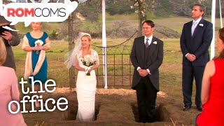 """The Office"" Season 9, Episode 23 ""Finale"". Past and present Dunder Mifflin employees gather for a wedding and a final round of interviews. Liked it? Subscribe ..."
