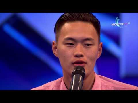 George strait amarillo by morning Mongolia's Got Talent Enkh-Erdene