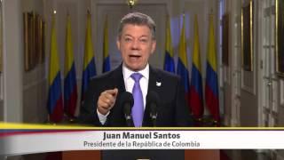 Alocución del Presidente Santos sobre las próximas elecciones regionales - 23 de octubre de 2015
