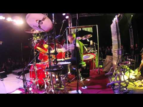 Ray Luzier of Korn - Freewill and Drum Solo - HURRY! A Celebration of Rush Music - NAMM 2016