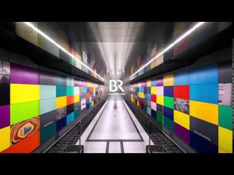 Bayerisches Fernsehen - Munich U-Bahn Ident - 2016 [HD]