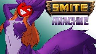 Smite: Battleground of the Gods | Arachne Arena Gameplay! (Flawless Victory!)