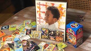 Kyle's 12th birthday Pokémon cards opening