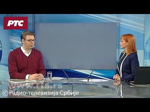 Vučić za RTS: Nedopustivo je gaženje zastave bilo koje suverene zemlje