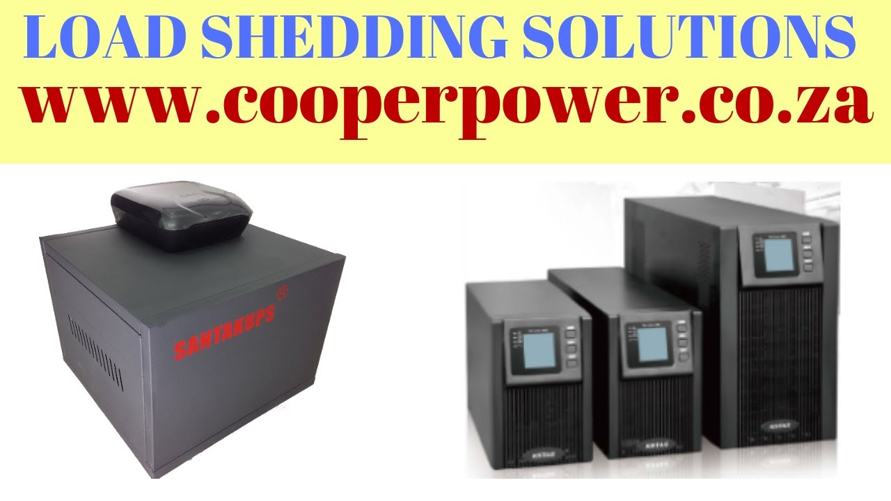 Load Shedding Solutions cape town - load shedding schedule 2018 - Let us  help you with load
