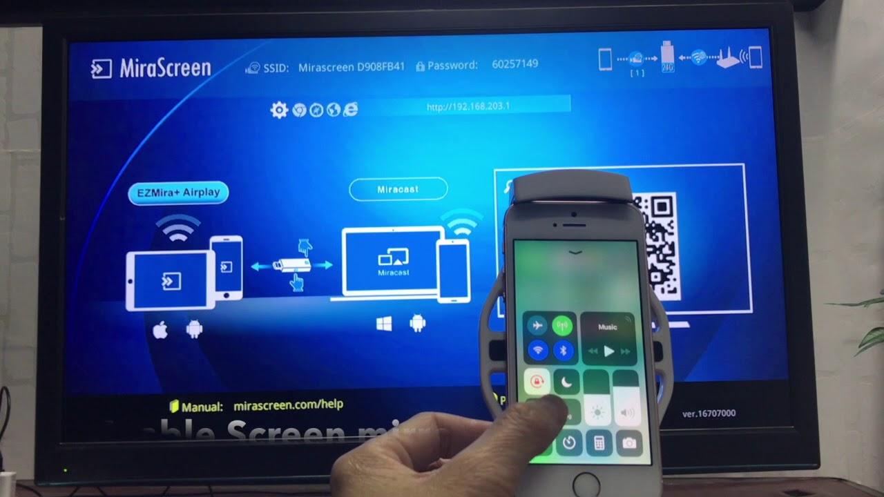 2c1a83f59ec MiraScreen New UI iOS mirroring - YouTube